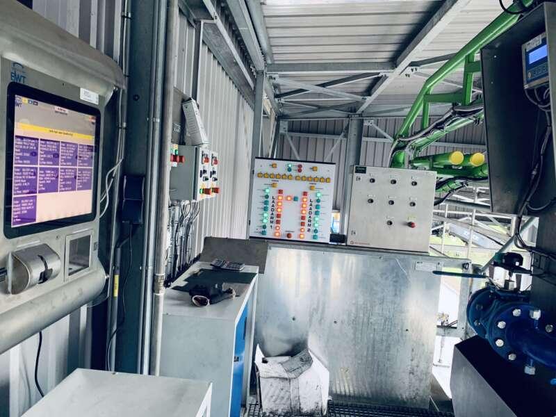Weegbrug automatisering